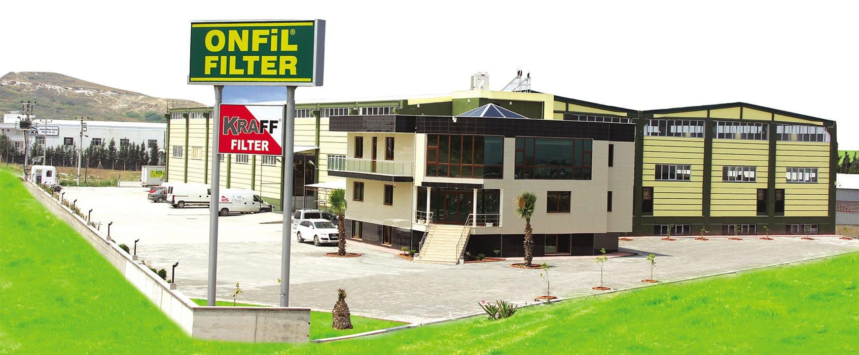 onfiltre fabrika Onfiltre (Onfil Filter & Kraff Filter)